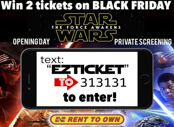 Star Wars Texting Contest