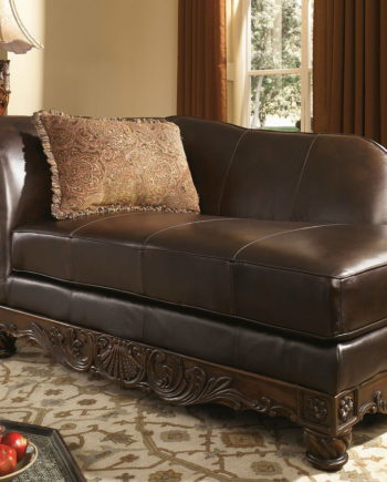 Leather Chaise