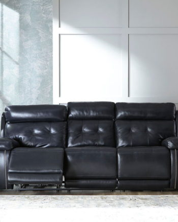 Leather Reclining Power Sofas